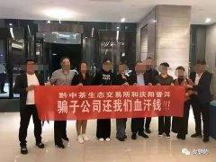贵州黔中生态茶交易中心披着合法外衣,实则涉嫌集资诈骗
